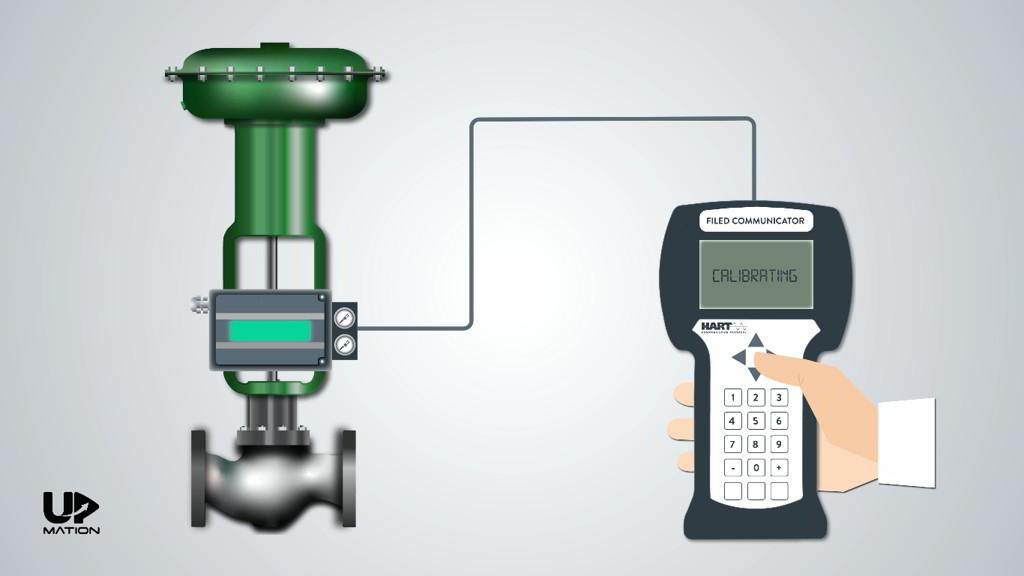 Calibrating a Control Valve Using Handheld Communicator