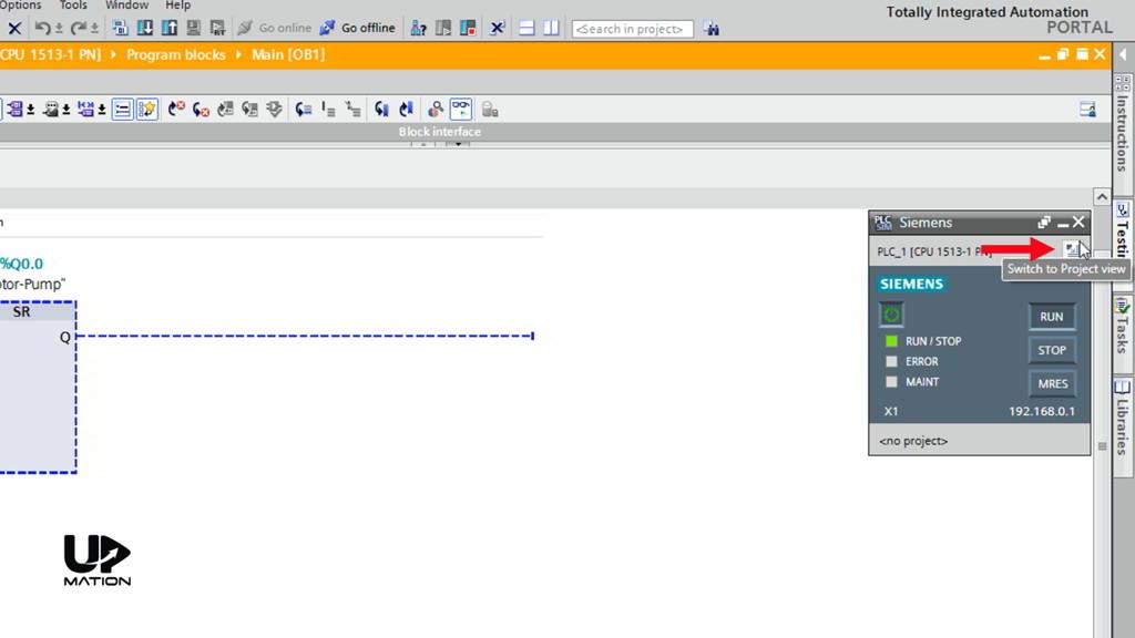 How to Create a SIM Table in TIA Portal